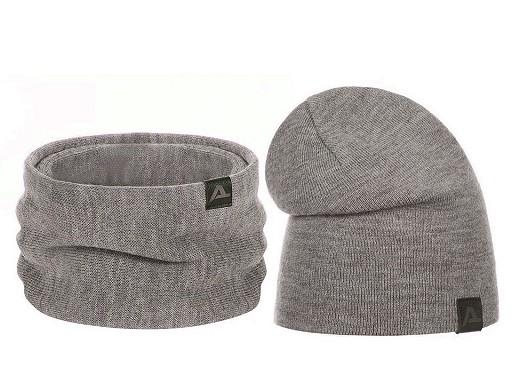 Komplet zimowy czapka i szalik / komin