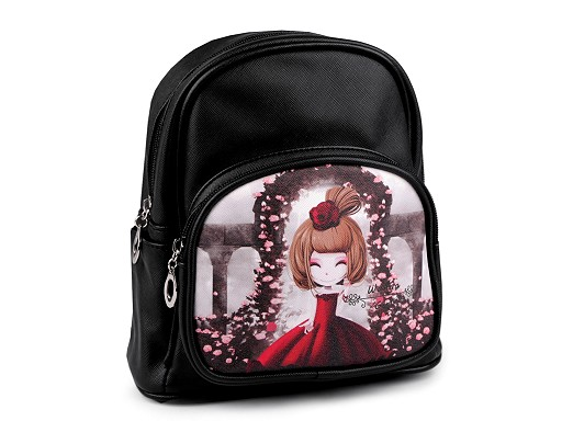 Dívčí batoh 22x24 cm