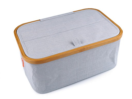 Skladací box na šijacie potreby a pletenie
