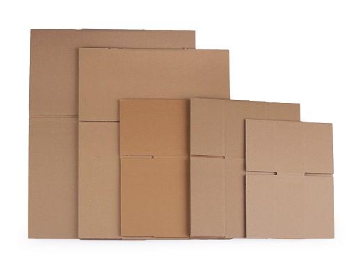 Kartónová krabica sada - mix piatich veľkostí