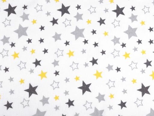 Flanela bawełniana gwiazdy