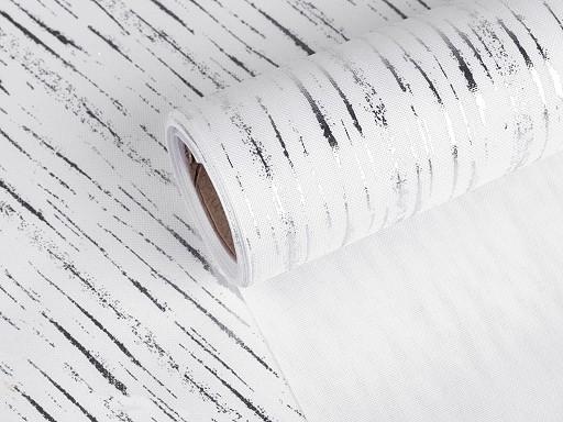 Tkanina dekoracyjna / imitacja juty szerokość 24 cm