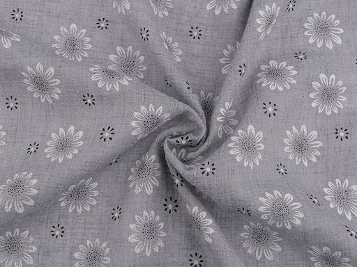 Cheesecloth Fabric, Daisies