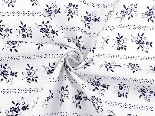 Bumbac imprimat cu motiv floral