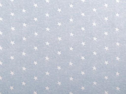Dzianina bawełniana gwiazdy