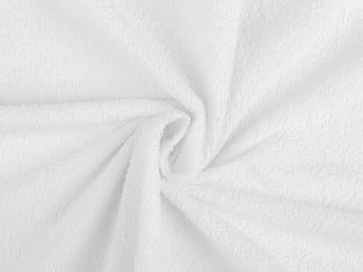 Tkanina bawełniana frotte z nieprzepuszczalną membraną