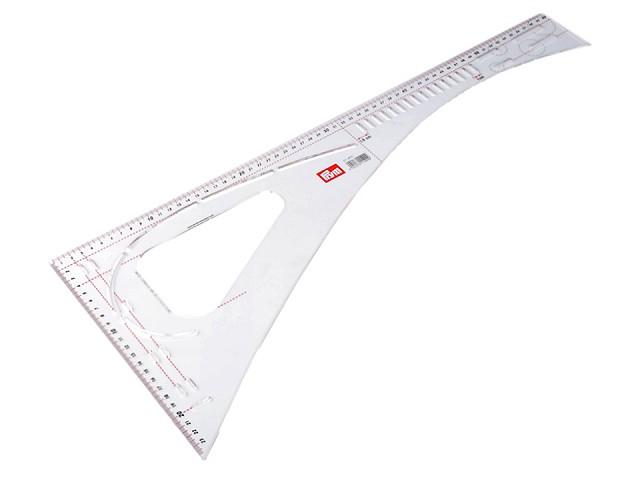 Kračírsky príložník / pravítko Prym dĺžka 60 cm