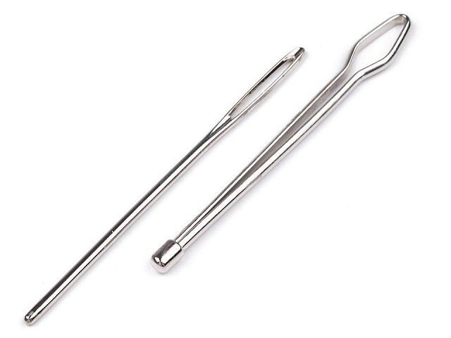 Provlékací jehly - navlékače, délka 65-68 mm 2 ks