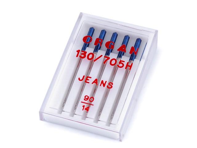 Strojové ihly Jeans 90;100;110 Organ