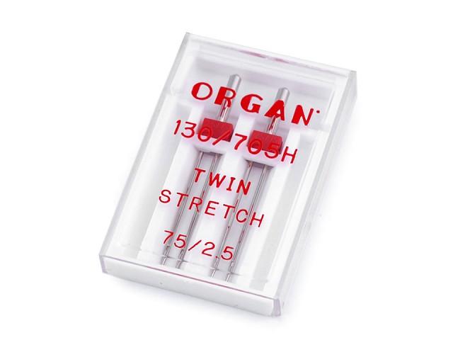 Dvojjehly Stretch 75/2,5 Organ
