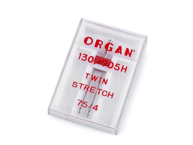 Dvojjehla Stretch 75/4 Organ