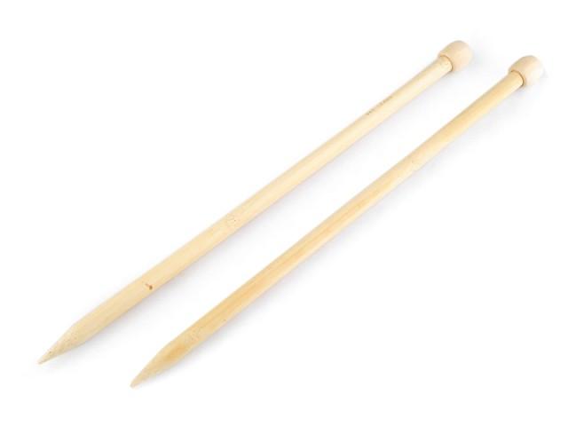 Stricknadeln Gr. 12 Bambus