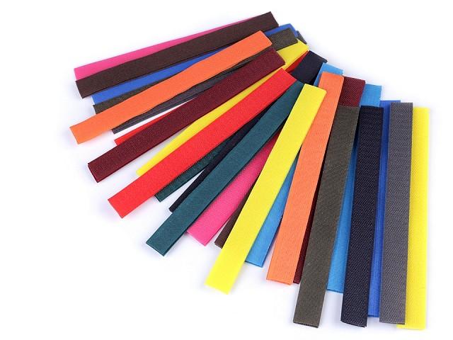 Bandes Velcro en nylon, dimensions 2x20 cm