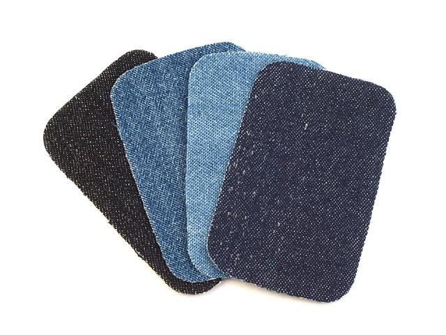 Łaty do naprasowania - rozmiar 7,6x4,9 cm jeans