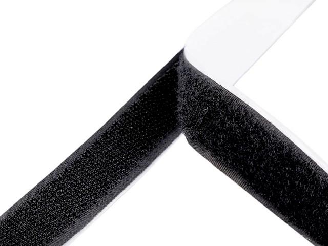 Klettband Haken + Schlaufen selbstklebend geschnitten 20 cm