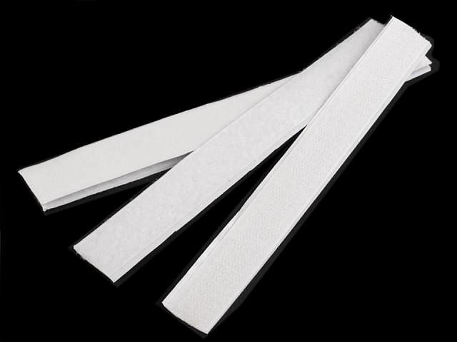 Suchý zip háček + plyš samolepicí stříhaný 20 mm