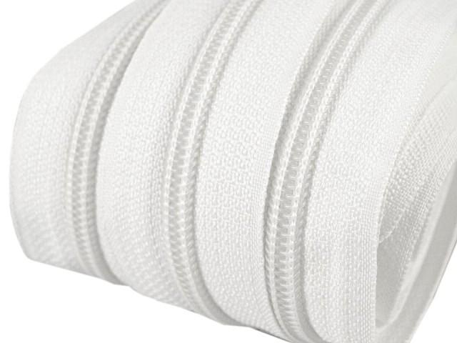 Fermeture Éclair continue en nylon (bobine), pour glissières de type POL, 3 mm