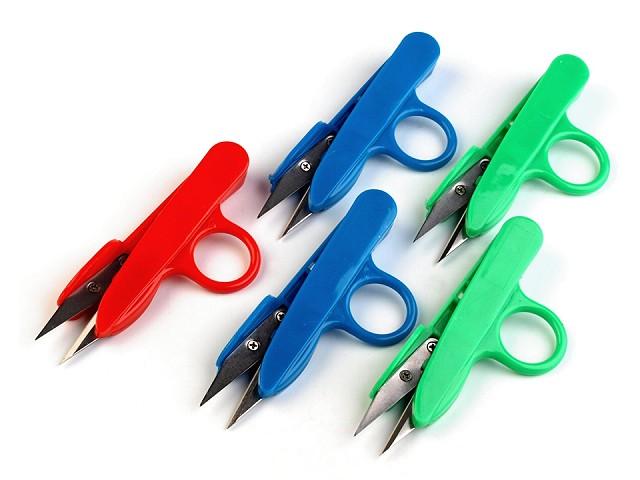 Nůžky cvakačky délka 12 cm s plastovou rukojetí