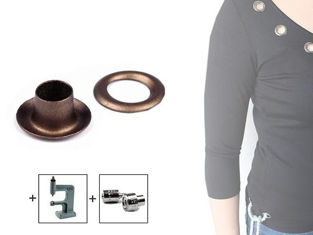 Ringli alátéttel külső Ø5,5 mm / belső Ø10 mm