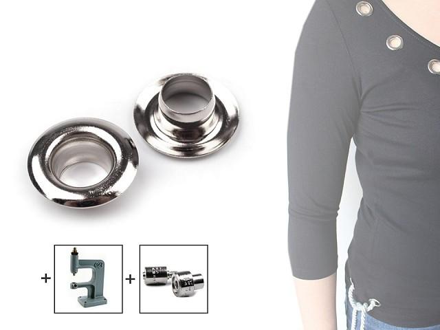 Ringli alátéttel belső Ø7 mm / külső Ø13 mm