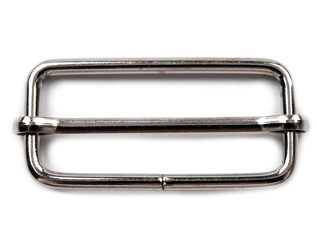 Posunovač na popruhy šírka 38 mm na koženú galantériu