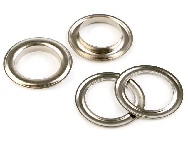 Oczka metalowe wew.Ø22 mm / zew.Ø34 mm