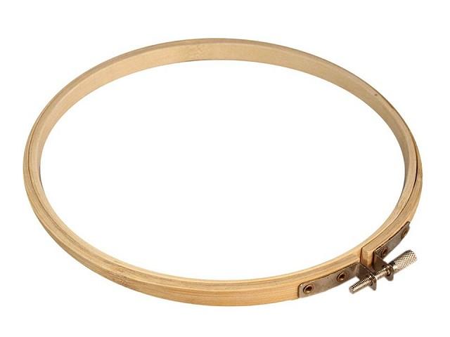 Stickrahmen rund Bambus Ø18 cm
