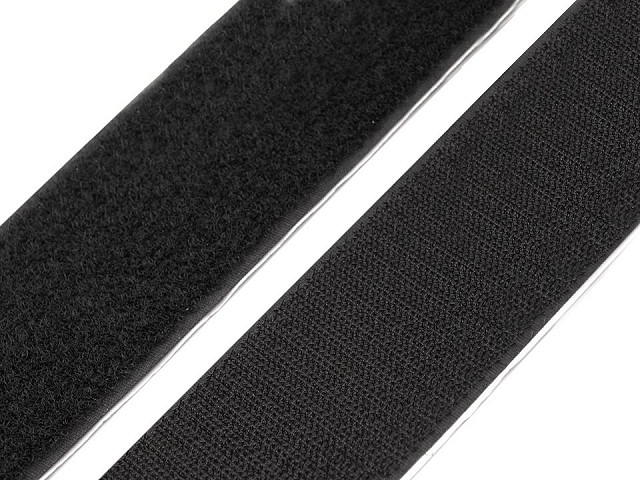 Klettverschluss selbstklebend Haken + Schlaufen Breite 50 mm