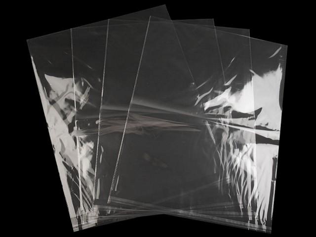Celofánové sáčky s lepicí lištou 40x50 cm