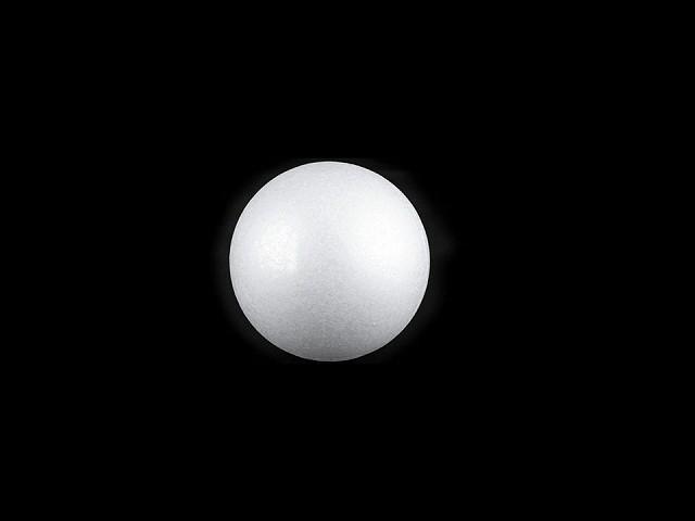 Gömb Ø2,5 mm polisztirol