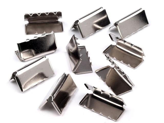 Endstücke aus Metall Breite 20 mm