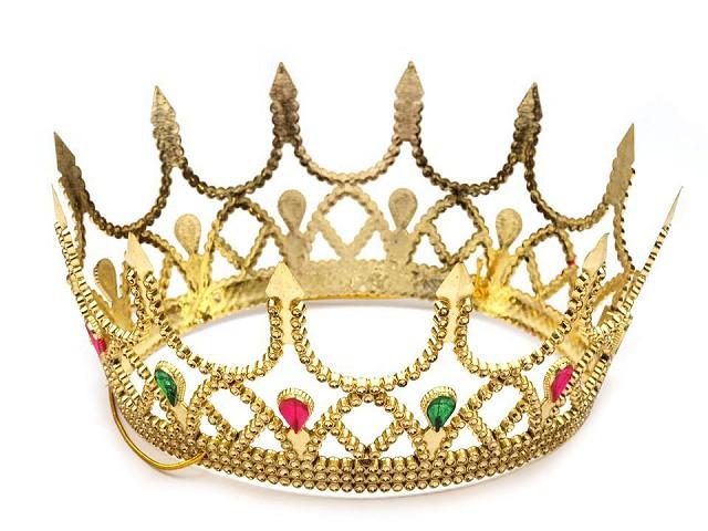 Kráľovská koruna karnevalová kráľovná