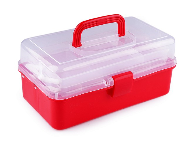 Plastový box / kufrík 20x33x15 cm rozkladací