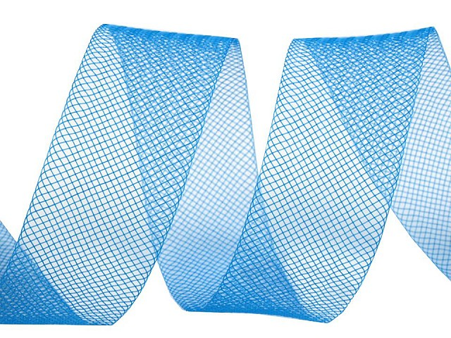 Modistická krinolína na vystuženie šiat a výrobu fascinátorov  šírka 2,5 cm