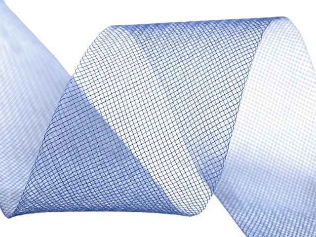 Modistická krinolína na vystuženie šiat a výrobu fascinátorov  šírka 4,5 cm