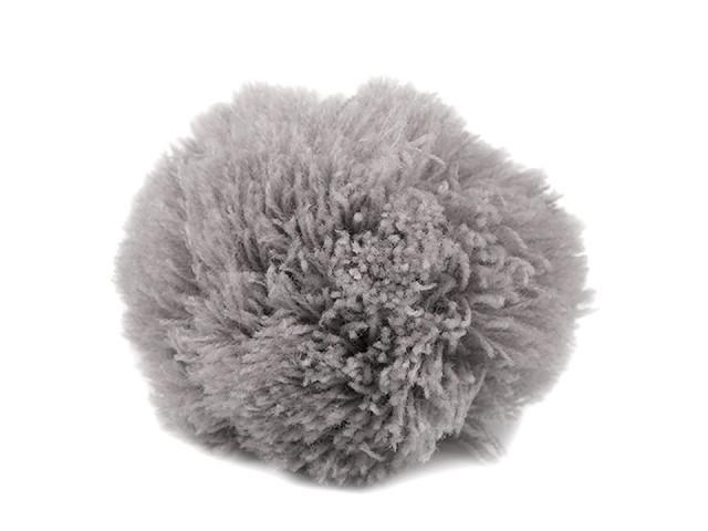 Pompoane / ciucuri căciuli, Ø8,5 cm
