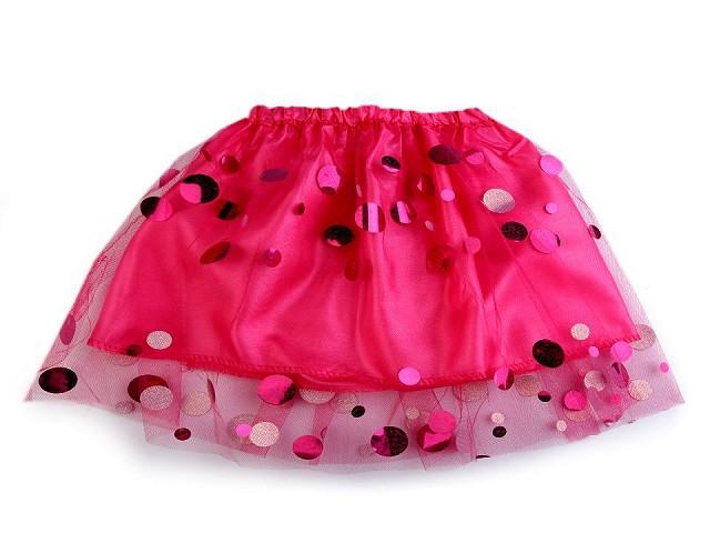 Karnevalová sukienka detská s flitrami
