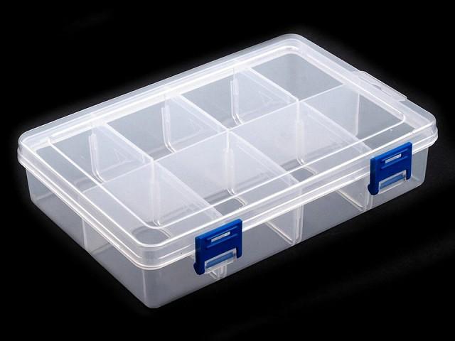 Műanyag doboz13,5x20x4,6 cm