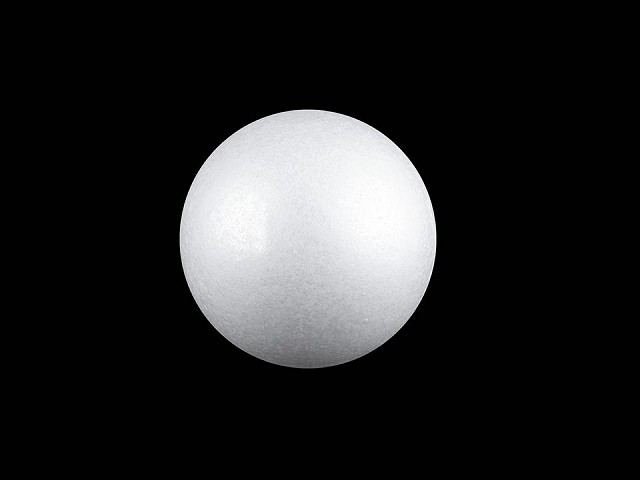 Kugel Styropor Ø6,5 cm