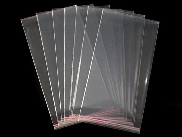Celofánové sáčky s lepicí lištou 20x50 cm