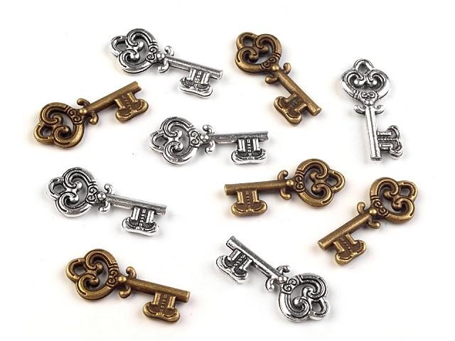 Přívěsek klíč 9x20 mm