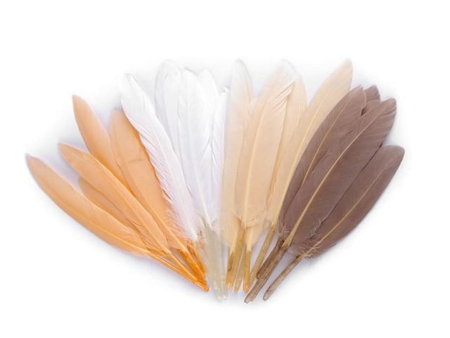 Decorative duck feather  length 9-14 cm