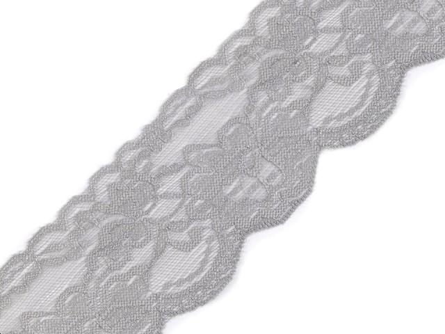 Čipka elastická šírka  80 mm