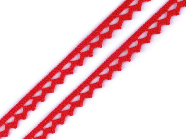 Bavlněná krajka paličkovaná šíře 9 mm