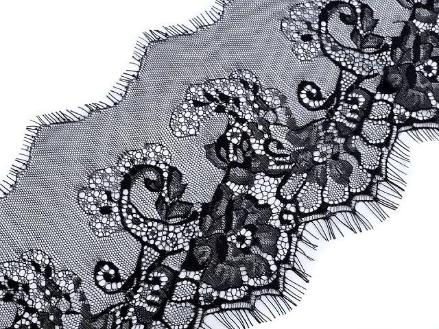 Francúzska čipka šírka 17,5 cm