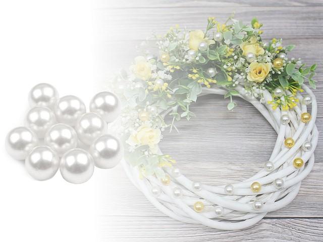 Dekoračné guľky / perly bez dierok  Ø10 mm