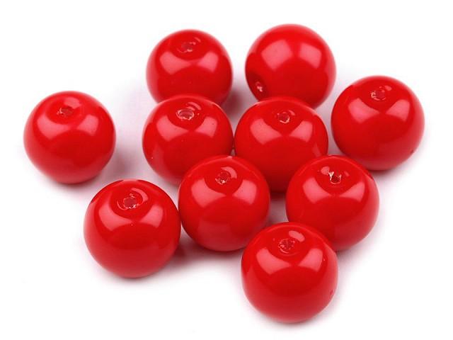 Sklenené voskové perly Ø10 mm
