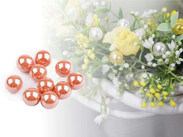 Dekoračné guľky / perly bez dierok Ø10 mm lesklé