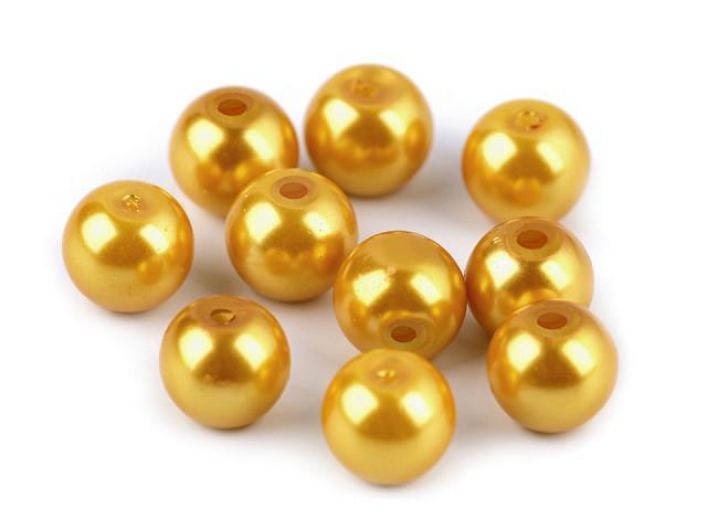 Sklenené voskové perly Ø8 mm