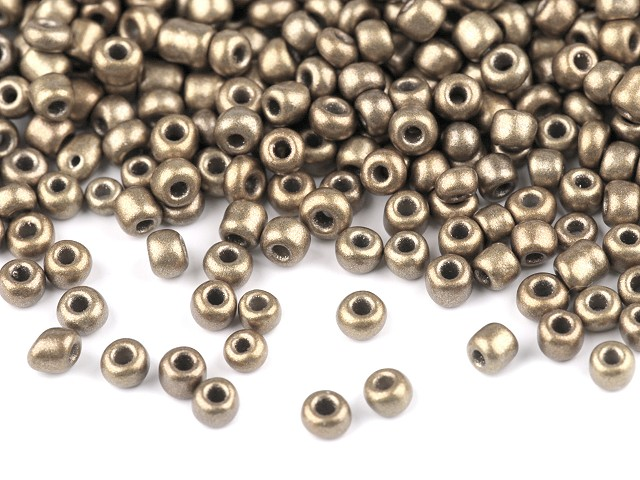 Rokajl 8/0 - 3 mm metalický, nepriehľadný